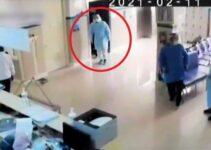 Un policía se disfraza de médico para ver a su padre con COVID-19 y al encontrarlo se queda sin palabras.