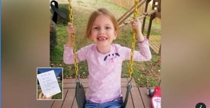 Una niña de 8 años deja una lista de reglas para sus padres antes de dejarlos para siempre..