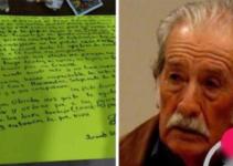 Deja una carta contando que perdió las ganas de vivir desde que le robaron todos sus ahorros.